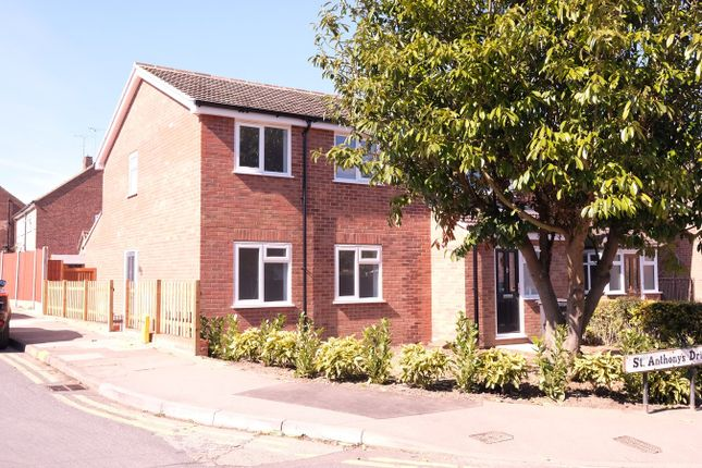Thumbnail Semi-detached house for sale in St Anthonys Drive, Moulsham Lodge, Chelmsford