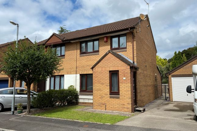 Thumbnail Semi-detached house for sale in Hanbury Close, Whitchurch, Cardiff