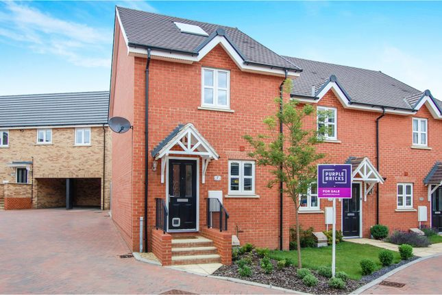 Thumbnail End terrace house for sale in Radcliffe Mews, New Cardington, Bedford