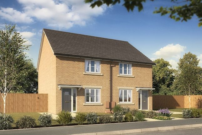 "Thumbnail Terraced house for sale in ""The Helix"" at Clarks Close, Yeovil"