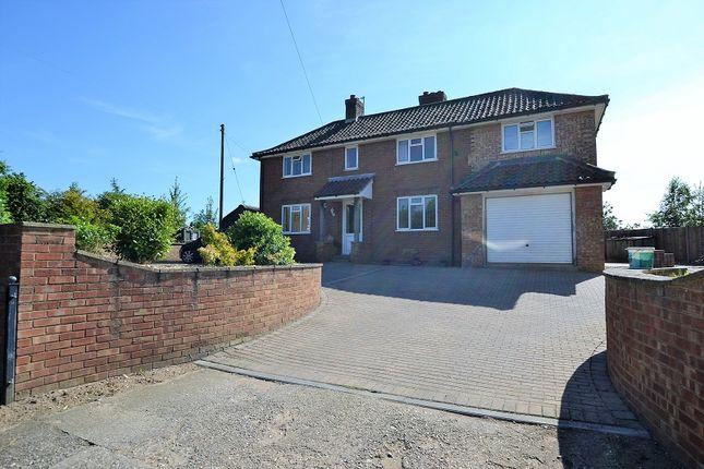 Thumbnail Detached house for sale in Back Lane, North Elmham, Dereham, Norfolk.