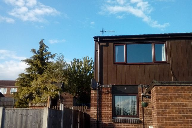 Thumbnail End terrace house for sale in Scalby Close, Eastwood, Nottingham