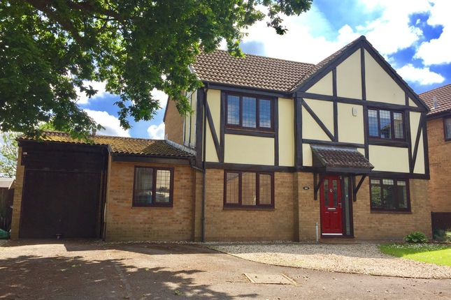 Thumbnail Detached house for sale in Homefield, Yate, Bristol