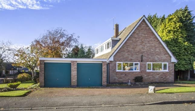 Thumbnail Detached house for sale in Chestnut Drive, Bushby, Leicester, Leicestershire