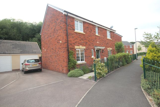 Thumbnail Detached house for sale in Harfleur Court, Monmouth