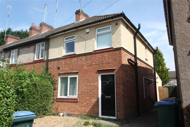 Thumbnail End terrace house to rent in Gerard Avenue, Canley, Coventry