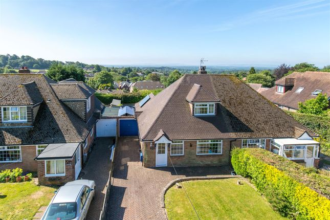 Thumbnail Semi-detached house for sale in Spring Park, Mutton Hall Lane, Heathfield