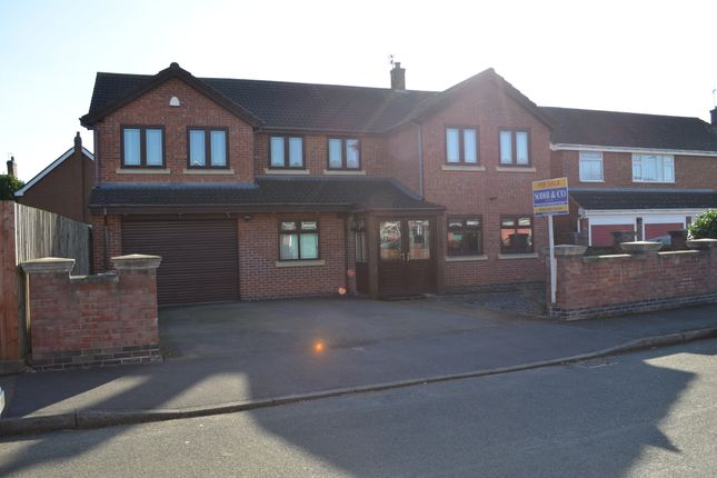 Thumbnail Detached house for sale in Northfields, Syston, Leicester