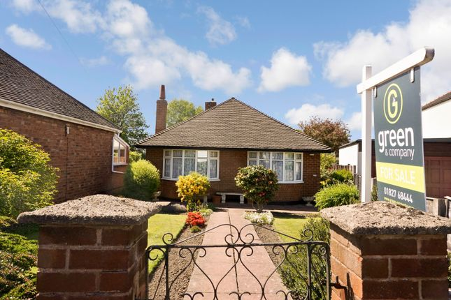 Thumbnail Detached bungalow for sale in Clifford Street, Glascote, Tamworth