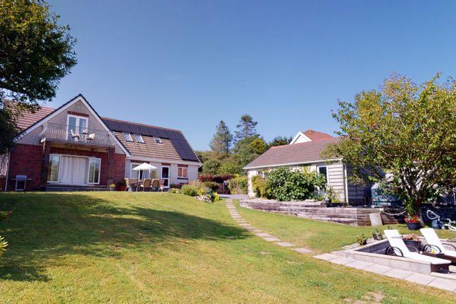 Thumbnail Detached bungalow for sale in Meinciau Road, Mynyddygarreg, Kidwelly, Carmarthenshire