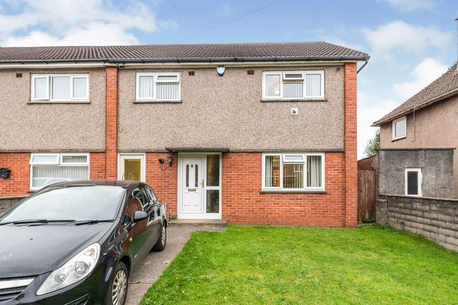 Thumbnail End terrace house for sale in Blue House Road, Llanishen, Cardiff