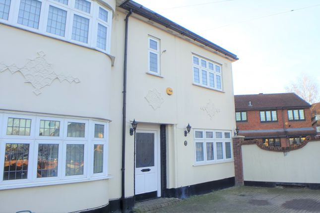 Thumbnail End terrace house for sale in Donald Drive, Chadwell Heath, Redbridge