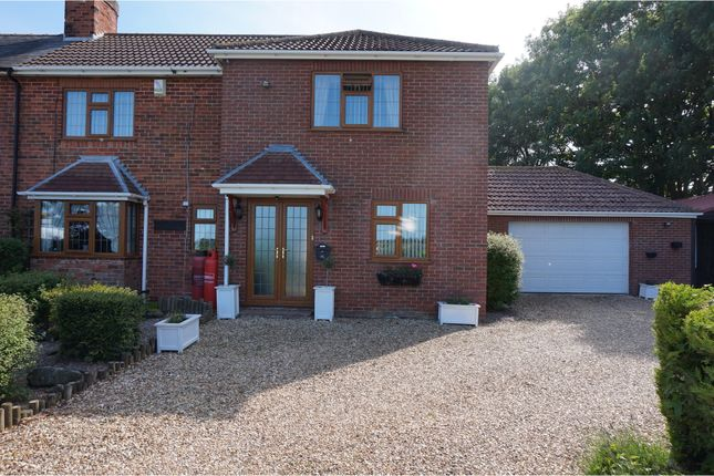 Thumbnail Semi-detached house for sale in Church End, Skegness