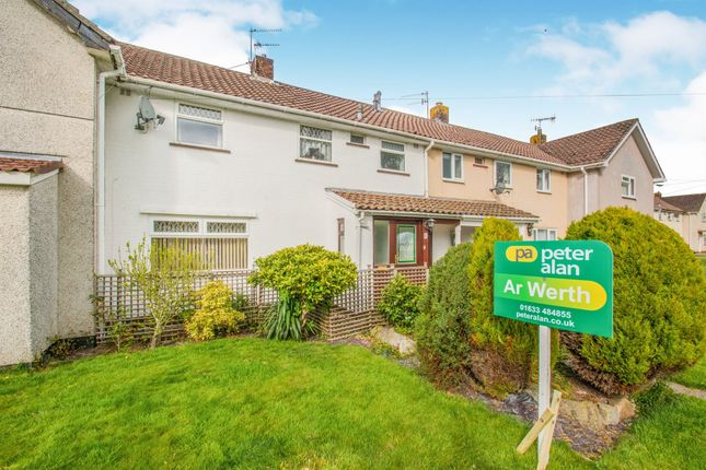 Thumbnail Terraced house for sale in Court Farm Road, Llantarnam, Cwmbran