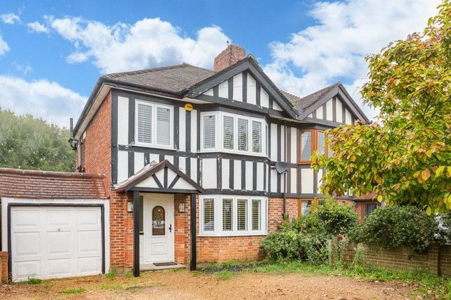 Semi-detached house for sale in Thorndon Gardens, Ewell, Epsom