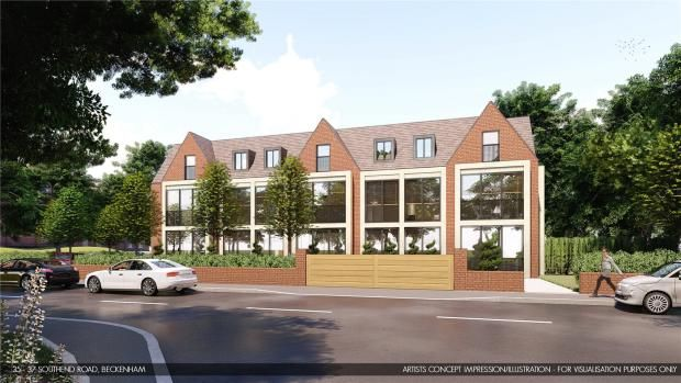 Thumbnail Land for sale in Southend Road, Beckenham