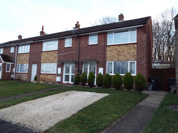 Thumbnail End terrace house for sale in Rentain Road, Chartham, Canterbury, Kent