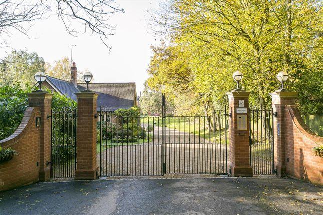 Entrance Gates And Lodge