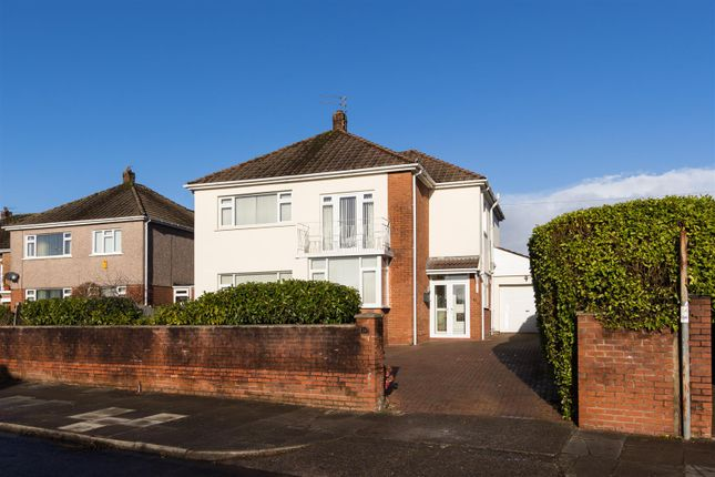 Thumbnail Detached house for sale in Pwllmelin Road, Fairwater, Cardiff