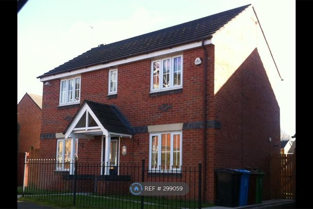 Thumbnail Detached house to rent in Castle Hill Drive, Manchester