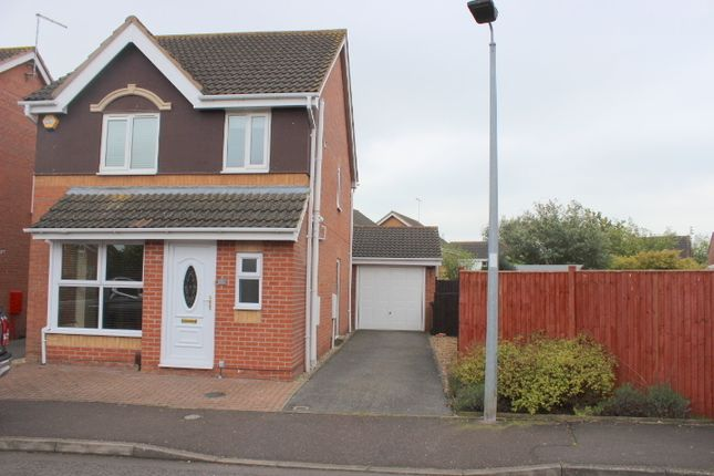 Thumbnail Terraced house to rent in Framlingham Road, Park Farm, Peterborough