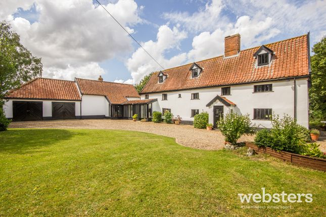 Thumbnail Detached house for sale in The Street, Tibenham