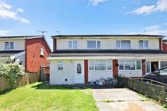 Thumbnail Semi-detached house for sale in Adie Road, Greatstone, New Romney, Kent