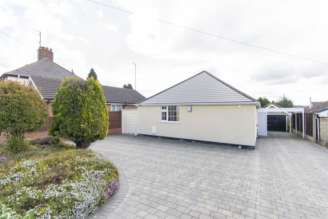 Thumbnail Detached bungalow for sale in Storforth Lane, Hasland, Chesterfield