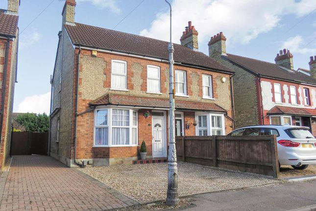 Thumbnail Semi-detached house to rent in Drove Road, Biggleswade