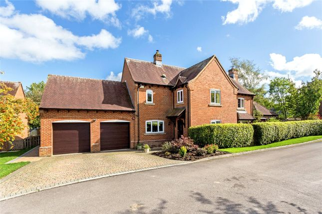Thumbnail Detached house for sale in St. Katherines, Winterbourne Bassett, Swindon, Wiltshire