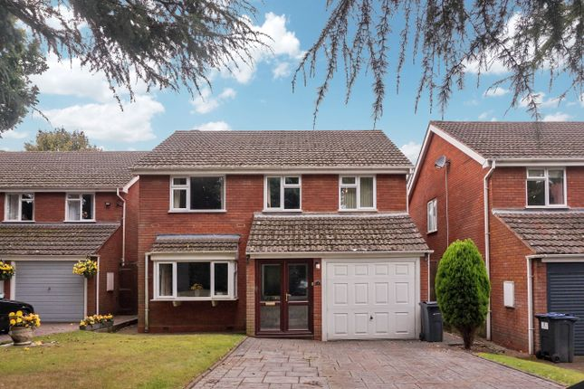Thumbnail Detached house for sale in Wyvern Close, Four Oaks, Sutton Coldfield