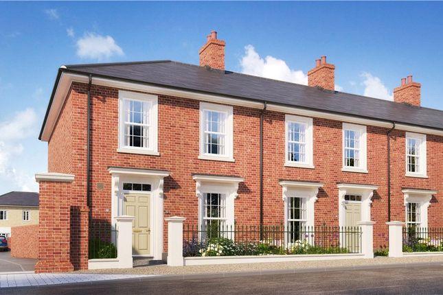 Thumbnail Terraced house for sale in Elanor Coade Mews, Poundbury, Dorchester, Dorset
