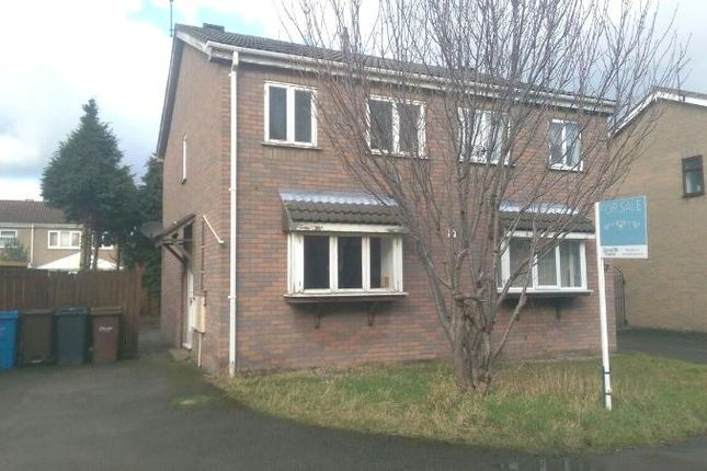 Thumbnail Semi-detached house for sale in Bannister Drive, Hull