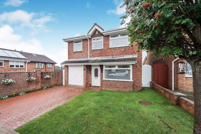 Thumbnail Detached house for sale in Pikeston Close, Hartlepool