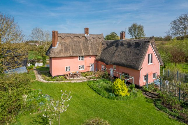 Thumbnail Farmhouse for sale in Bradfield St George, Bury St Edmunds, Suffolk