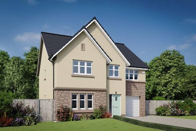 "Thumbnail Detached house for sale in ""The Crichton"" at Newmills Road, Balerno"