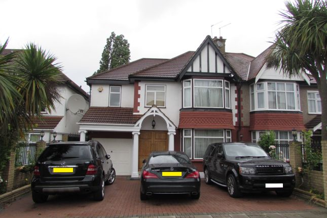 Thumbnail Semi-detached house for sale in Queenscourt, Wembley