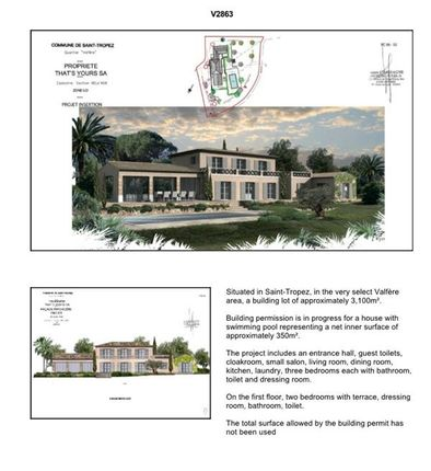 Thumbnail Land for sale in St Tropez, Alpes-Maritimes, France