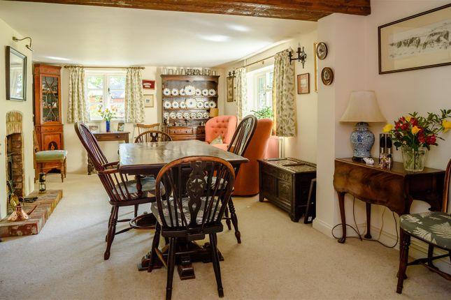 Dining Room of Bryne Lane, Padbury, Buckingham, Buckinghamshire MK18