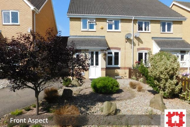 Thumbnail Semi-detached house for sale in Howberry Green, Arlesey, Beds