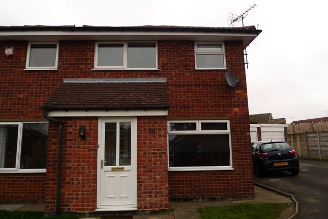 Thumbnail Semi-detached house to rent in Sywell Close, Sutton-In-Ashfield
