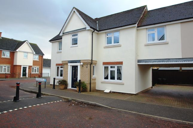 Thumbnail Link-detached house for sale in Caxton Close, Tiptree, Colchester