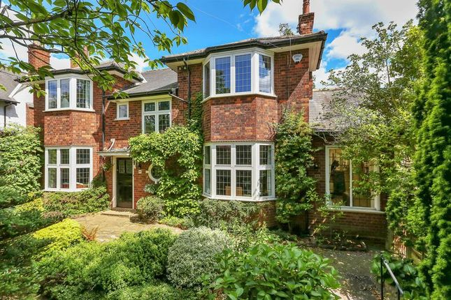 Thumbnail Detached house for sale in Carisbrooke Drive, Mapperley Park, Nottingham