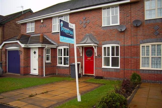 Thumbnail Town house to rent in Weston Park Avenue, Stretton, Burton.