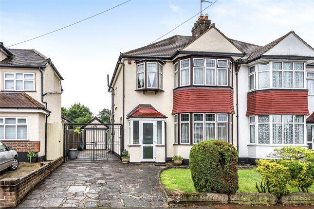 Thumbnail Semi-detached house for sale in Ravenswood Avenue, West Wickham