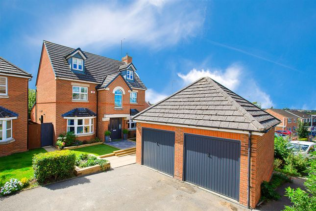 Thumbnail Detached house for sale in The Coppice, Thrapston, Kettering