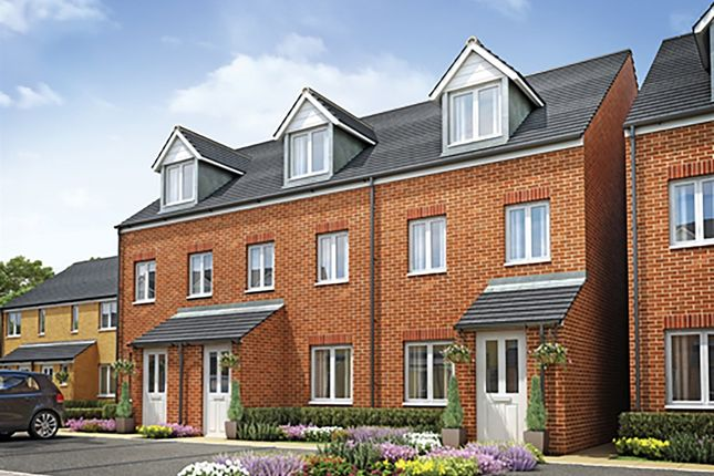 """Thumbnail 3 bedroom end terrace house for sale in """"The Souter"""" at Stowmarket Road, Great Blakenham, Ipswich"""