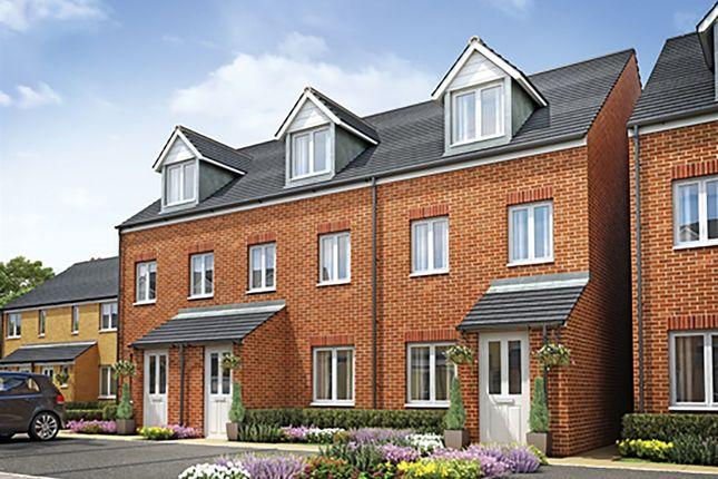 "Thumbnail 3 bedroom terraced house for sale in ""The Souter "" at Mount Pleasant, Framlingham, Woodbridge"