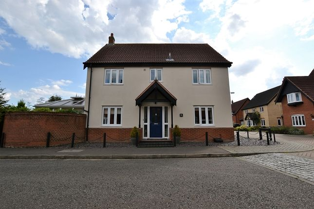 Thumbnail Detached house for sale in Rowan Drive, Dereham, Norfolk.