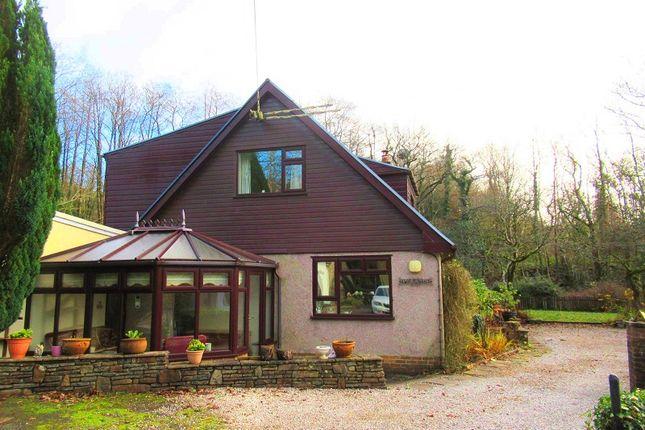 Thumbnail Detached house for sale in Llangynwyd, Maesteg, Bridgend.